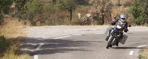 Mit dem Motorrad an der Cote d'Azur