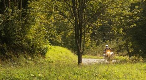 von Kobarid ins italienische Friuli über Kleinststrassen